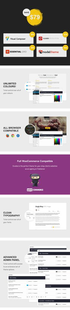 Buy Inclusive - Multipurpose WooCommerce WordPress Theme by modeltheme on ThemeForest. Compatible with: Black Friday / Cyber Monday Deals for WooCommerce Want to create and incredible Shop WordPress websi. Wordpress Premium, 404 Page, Photography Website, Website Template, Card Templates, Creative Business, Wordpress Theme, Ecommerce, Business Flyer