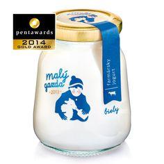 Packaging for Maly Gazda Jogurt Yogurt Packaging, Ice Cream Packaging, Milk Packaging, Chocolate Packaging, Food Packaging Design, Coffee Packaging, Bottle Packaging, Pretty Packaging, Brand Packaging