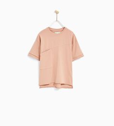 OVERSIZED T-SHIRT WITH SEAM