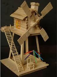 """Résultat de recherche d'images pour """"popsicle stick house"""""""