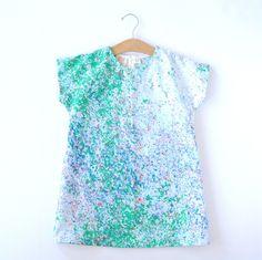 Toddler Dress - Spring Green