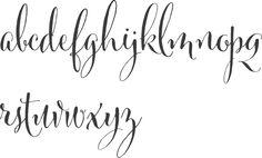 MyFonts: Wedding typefaces