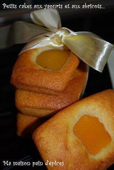 Petits cakes au yaourt et aux abricots