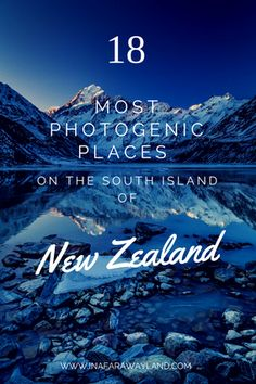 The most photogenic places I've discovered during my trip around the south island of New Zealand new zealand travel inspiration Nz South Island, New Zealand South Island, Places To Travel, Places To Go, New Zealand Holidays, New Zealand Winter, New Zealand Adventure, New Zealand Travel Guide, Visit New Zealand