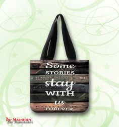 "Harry Potter Old Books Quotes Custom Tote Bag (one side)  A great every day bag to take you through your day!  Product Details Size: 12.2"" x 11"" x 3.3"" This 100% heavyweight 10 oz cotton canvas tote b"