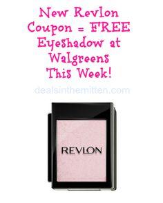 free revlon eyeshadow