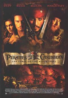[ PIRATES OF THE CARIBBEAN: THE CURSE OF THE BLACK PEARL POSTER ]