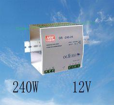 DIANQI Din rail power supply 240w 12V power suply 12v 240w  ac dc converter dr-240-12 good quality #Affiliate