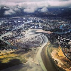 Flying into San Francisco #FromTheAir (Instagram by rrhys)