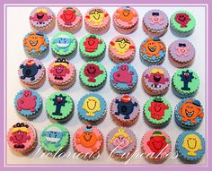 Salted Caramel PayDay Cupcakes Cupcake Birthday Cake Fairy cake What a cake! Mr Men and Little Miss Cupcakes 4th Birthday Parties, Man Birthday, Birthday Ideas, Cupcake Toppers, Cupcake Cakes, Cupcake Ideas, Childrens Cupcakes, Miss Cupcake, Fondant