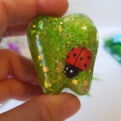 Ladybird Tooth Fairy Box, Trinket Box For Boys And Girls, Handmade Tooth Shaped Tooth Fairy Box, Teeth Shape, First Tooth, Fairy Doors, Child Love, Party Bags, Gifts For Boys, Trinket Boxes, Miraculous