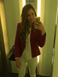 Total look from Zara, except Loewe's handbag