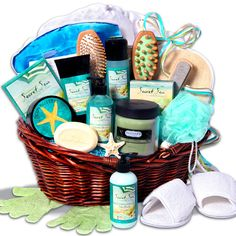 Deluxe Spa Gift Basket