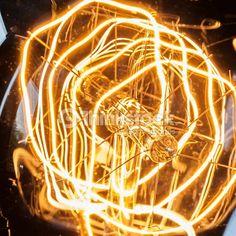 close up filament bulb - Google Search