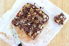 Coco-nutty Brownie Crunch - The Fit Foodie