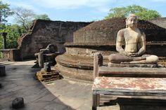 Sri Lanka,  Polonnaruwa, Ruinen Stadt