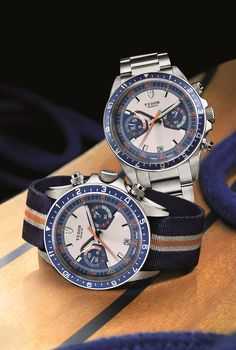 Tudor Heritage Chrono Blue - based on the Monte Carlo from the 70s