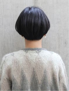 ローバー(ROVER)ナチュラルショート Short Bob Styles, Thin Hair Cuts, Shot Hair Styles, Hair Arrange, Hair 2018, Grey Hair, Pixie Cut, Bob Hairstyles, Hair Inspiration