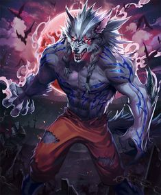 Furry Wolf, Furry Art, Black Anime Characters, Fantasy Characters, Fantasy Character Design, Character Art, Altered Beast, Wolf Artwork, Werewolf Art