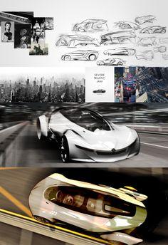 """selected for SAIC """"Roewe & MG"""" Design Award 2014: concept """"R"""" by Wan Hanlin"""