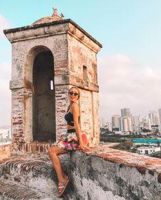 Castillo San Felipe, em Cartagena, Colômbia, pontos turísticos, o que fazer em Cartagena, turismo, girl, look, inspiration, el Castillo Nature Photography Tips, Photography Challenge, Ocean Photography, Portrait Photography, Wedding Photography, Beach Pictures, Travel Pictures, Travel Photos, Beach Tumblr