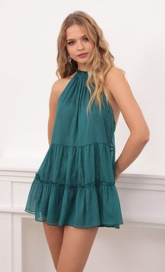 Sorority Recruitment Outfits, Teal, Summer Dresses, Party Dresses, Baccalaureate, Fashion Dresses, My Style, Outfit Ideas, Lace