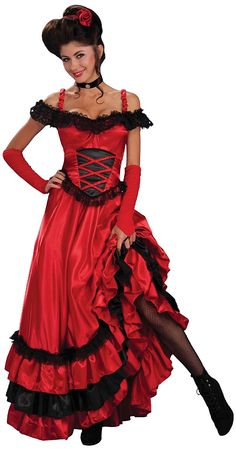 Victorian Costume Dresses & Skirts for Sale Saloon Sweetie Costume $38.99 AT vintagedancer.com