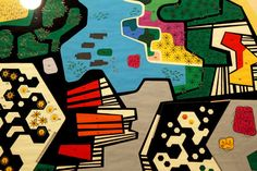 Revisiting the Constructed Edens of Roberto Burle Marx - The New York Times - design for the garden of the Ministry of the Army, Brasilia Illustration Photo, Illustrations, Parque Linear, Jewish Museum, Art Series, Elements Of Art, Abstract Pattern, American Artists, Landscape Design
