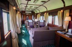 Comfortable sitting lounge on board Rovos Rail. Cape Town to Pretoria. Victoria Falls, Pretoria, Cape Town, South Africa, Lounge, Train, Luxury, Board, Home Decor