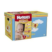 HUGGIES Little Snugglers Limited Edition Tote - Size 1 Need:1
