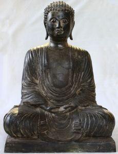 Buddha Statue in Bronze Japan, ABA36