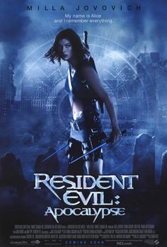 Resident Evil: Apocalypse 27x40 Movie Poster (2004)