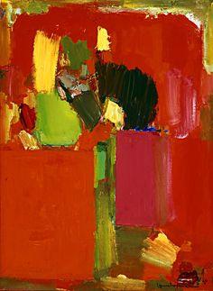 Hans Hofmann / Ruby Gold / 1959 / Oil on canvas