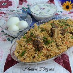 Mutton Biryani- in Pressure Cooker