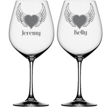 3x Valentine/'s Day Love Words Vinyl Decal Stickers Wine Glass Cup Gift Party