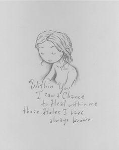 Within you <3 Kurt Halsey