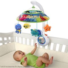 Crib Mobile Baby Einstein Sweet Sea Dreams Infant  Soother OceanToys Music Light