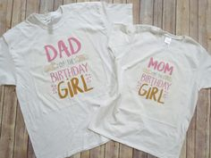 Twinkle Twinkle Little Star: Matching Mom and Dad Shirt, Mom and Dad of the Birthday Girl, Matching T-Shirts, Parents Birthday Outfit by KyCaliDesign on Etsy