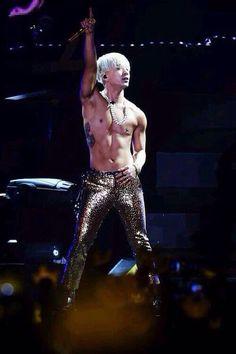 As always shirtless Taeyang