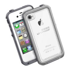 CLEAR / Gray LifeProof case-- this is the one I want! Then I can use different decals to make it pretty! $70