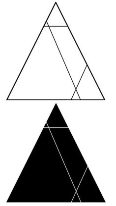 Triangles Temporary Tattoo Hipster Temporary by temporarytattooyou
