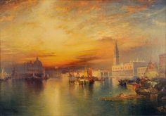 Grand Canal, Venice  Thomas Moran 1898/1898