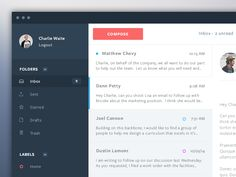 Mail App Design by Connor Murphy