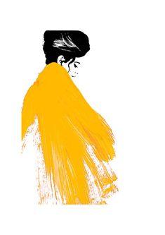 Illustration by: Judith Van Den Hoek More #FashionIllustrations