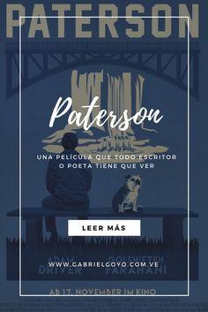 Cada semana reseño una película: hablemos de #Paterson de #Jim #Jarmusch, un film que todo #escritor debe ver http://buff.ly/2sJPDTm