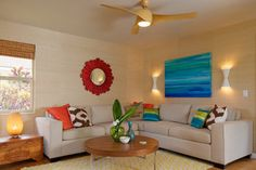 Living Room - tropical - living room - los angeles - by Natalie Younger Interior Design, Allied ASID