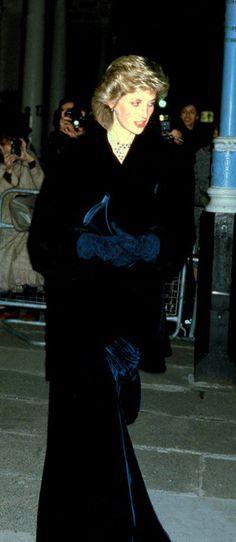 Dark blue velvet. Ye