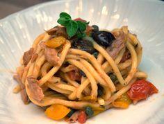 Troccoli con quel che c'è Spaghetti, Ethnic Recipes, Vintage, Food, Vintage Comics, Meals, Noodle, Primitive
