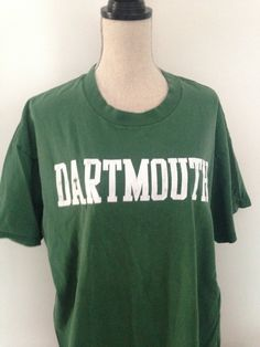 cee63ce5 Vintage Dartmouth College Tshirt early 90s by 21Vintage on Etsy College T  Shirts, College Outfits