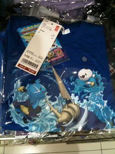 Pokemon Photos from Tokyo - Oshawott,Dewott,Samurott T shirt